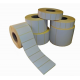 Rolls of adhesive labels for thermal printers