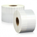 Rolls of labels for marking jewelry