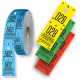 Cloakroom tickets in various colors