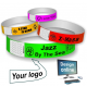 Paper wristbands design online