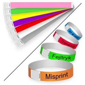 Paper wristbands special sale