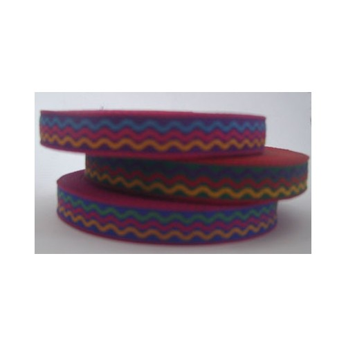 Colorful ribbon rolls for making festival wristbands