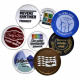 Custom made tokens and coins with color printing