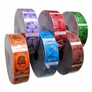 Drinking tickets and vouchers in different colors