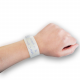 Medical wristband with insert on the wrist.
