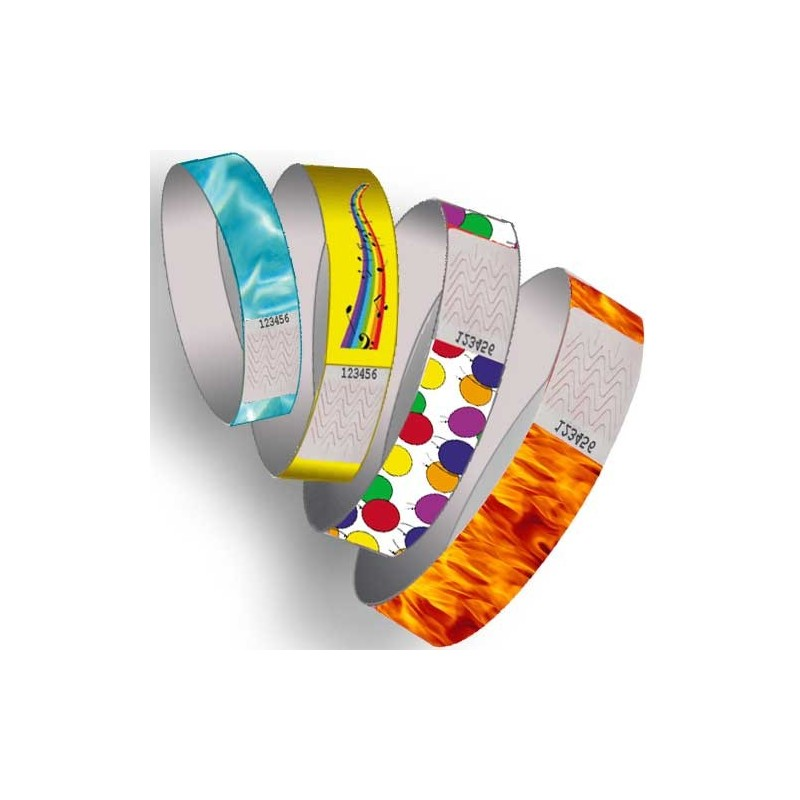 paper wrist bands Order your own custom wristbands choose your wristband type, color, message and design at rapidwristbands we have super affordable customized silicone bands.