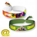 Textile wristbands digital printing Via eMail